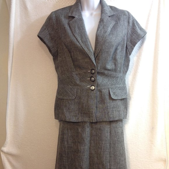Sweet Dresses & Skirts - Sweet Womens Suit Set Grey Size 10 NWOT